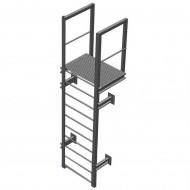 Вертикальная пожарная лестница П1-1